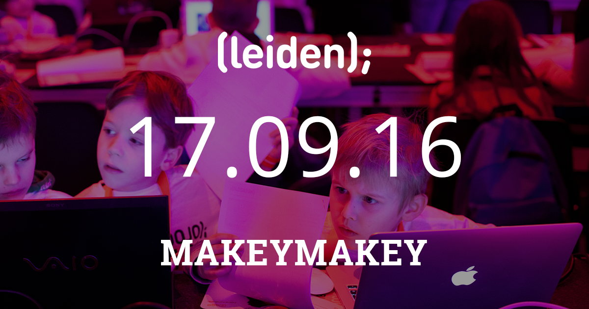 CoderDojo Leiden #28 | MakeyMakey