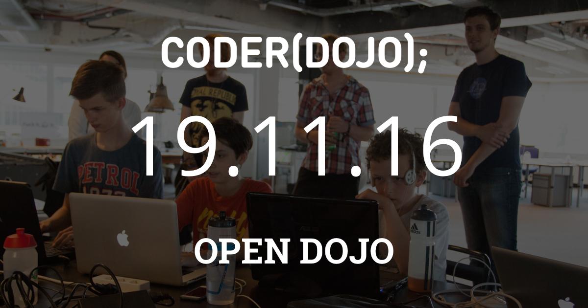 CoderDojo Leiden #30 | Open Dojo
