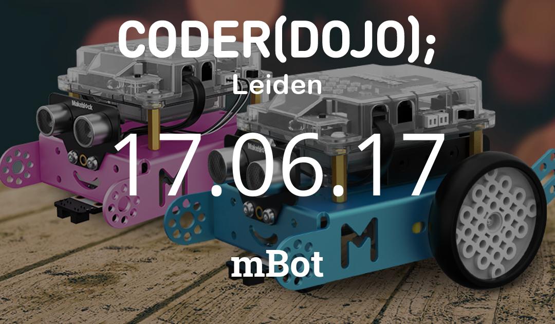 CoderDojo Leiden #37 | mBot | 17 juni 2017
