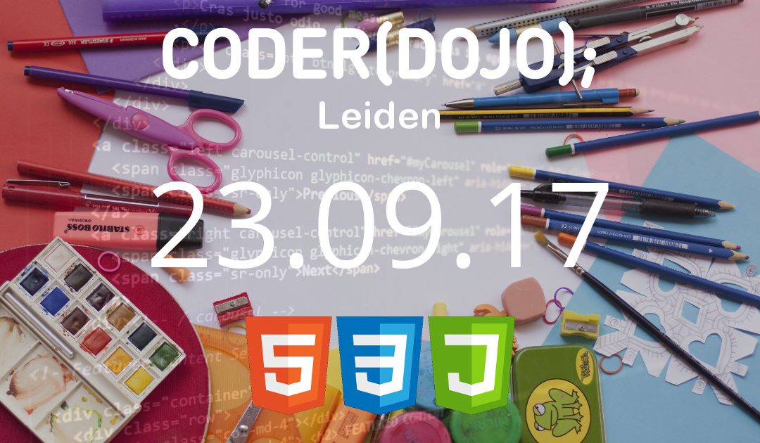 CoderDojo Leiden #40 | HTML, CSS en JavaScript | 23 september 2017
