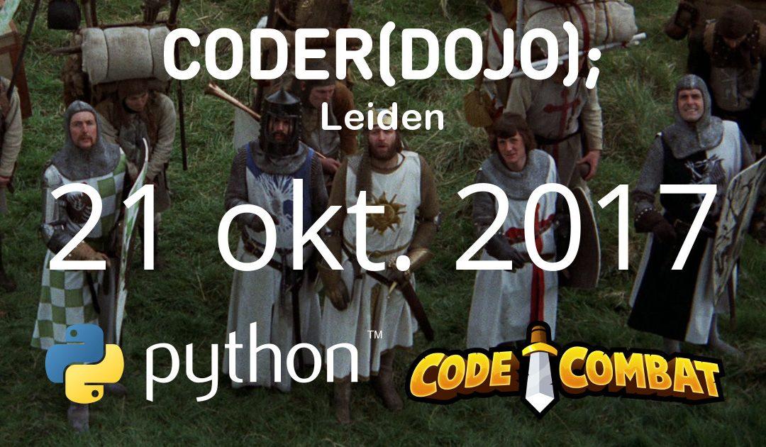 CoderDojo Leiden #41 | Python en CodeCombat | 21 oktober 2017