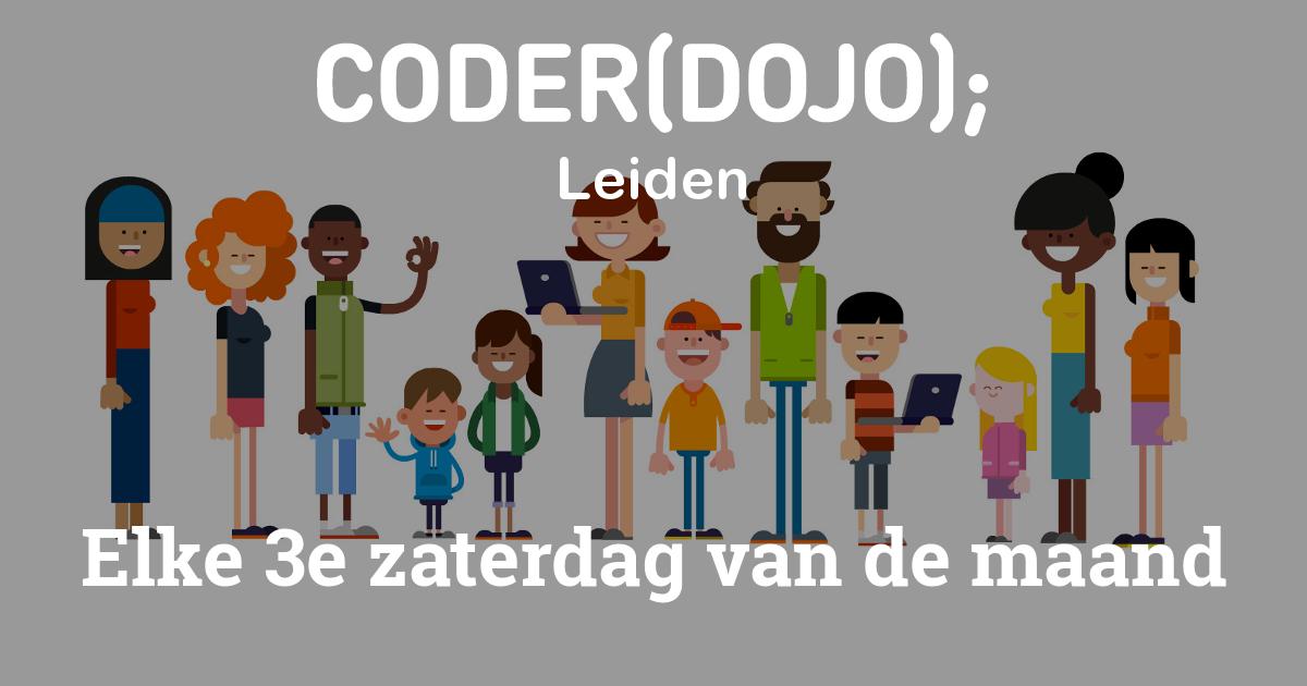 Coderdojo's zijn elke zaterdag van de maand. Check onze blog voor de afgelopen edities!