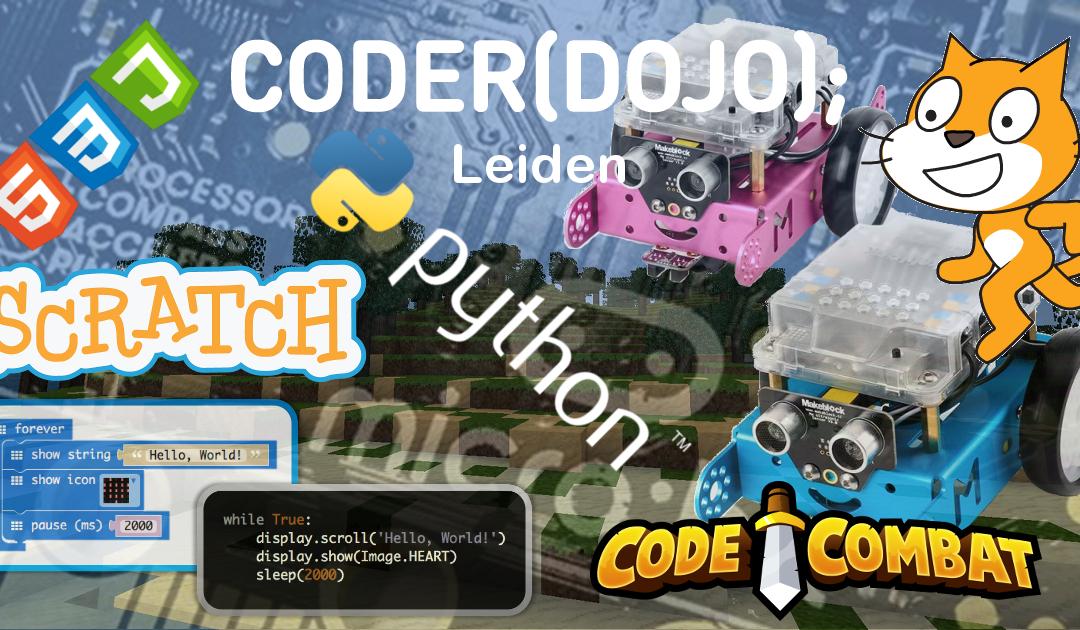 CoderDojo Leiden #50 | 21 juli 2018
