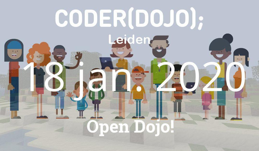 CoderDojo Leiden #67 | Open Dojo