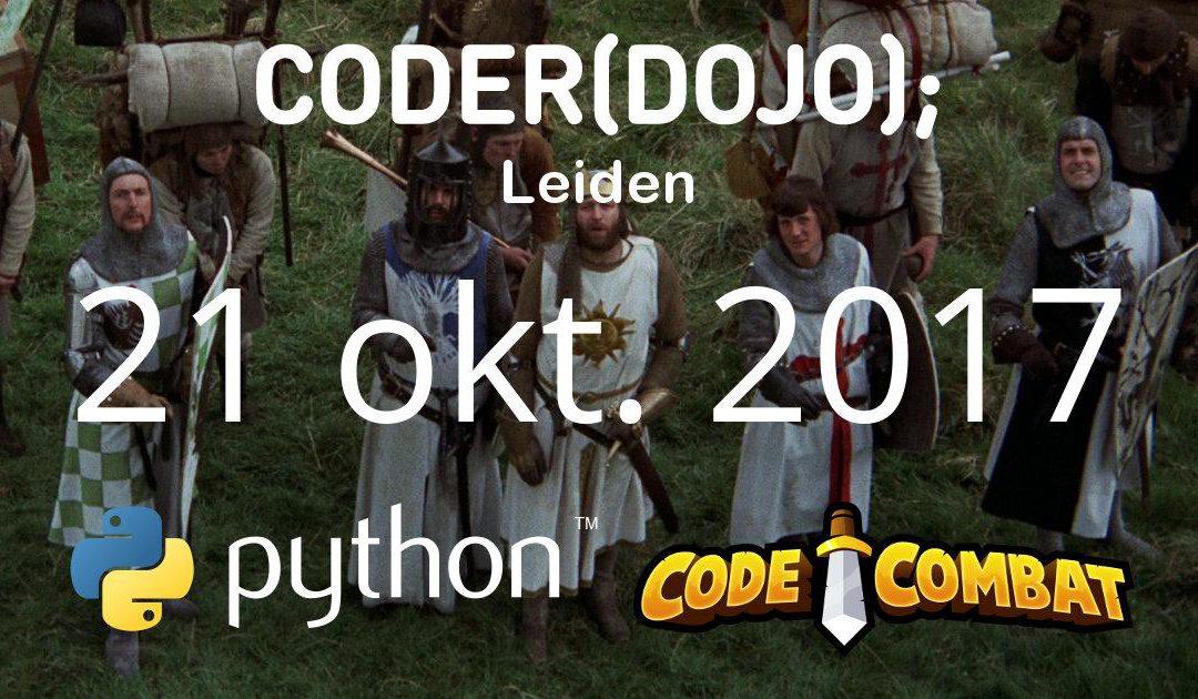 CoderDojo Leiden #41 | Python en CodeCombat