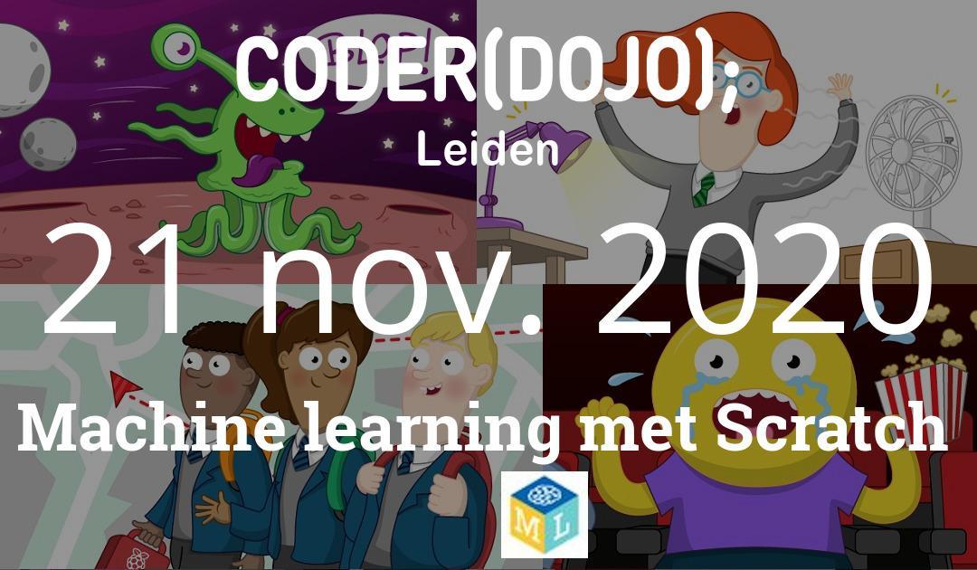 CoderDojo Leiden #73 | Machine learning met Scratch