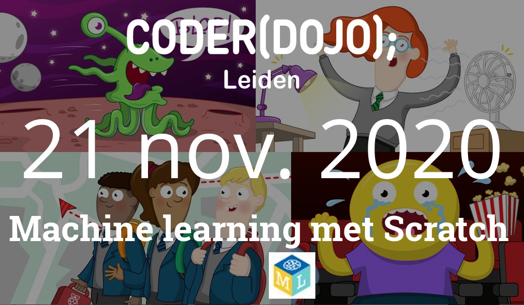 CoderDojo Leiden #73 | Machine learning met Scratch | 21 november 2020