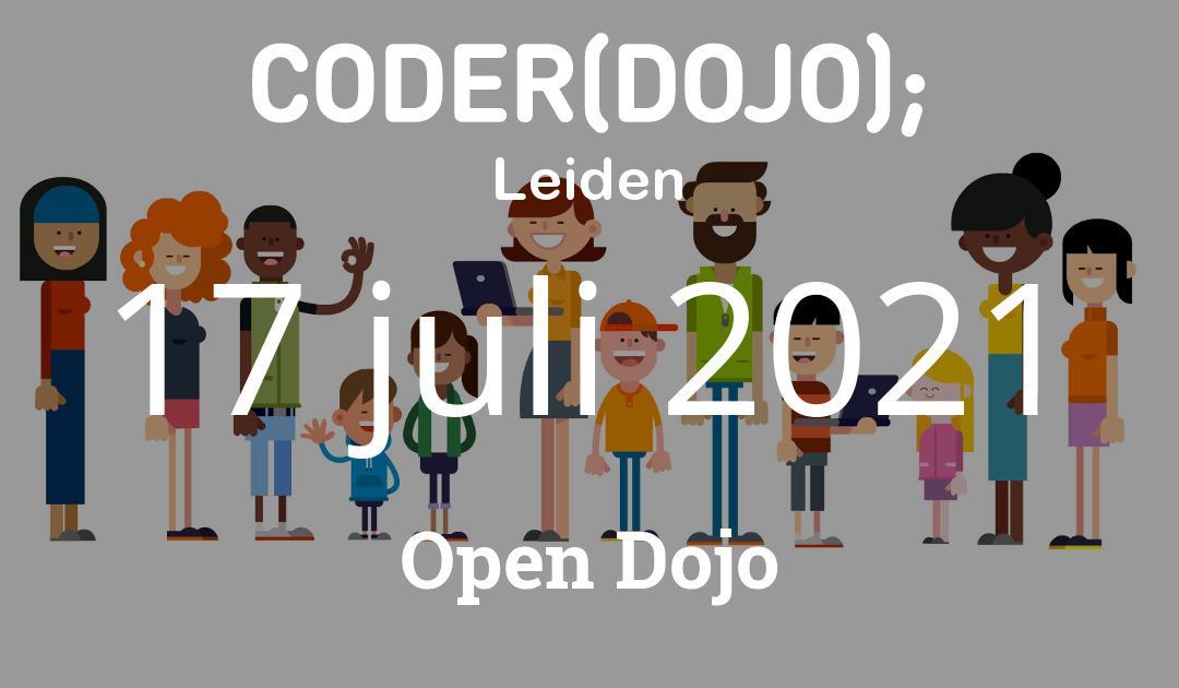CoderDojo Leiden #75   Open Dojo