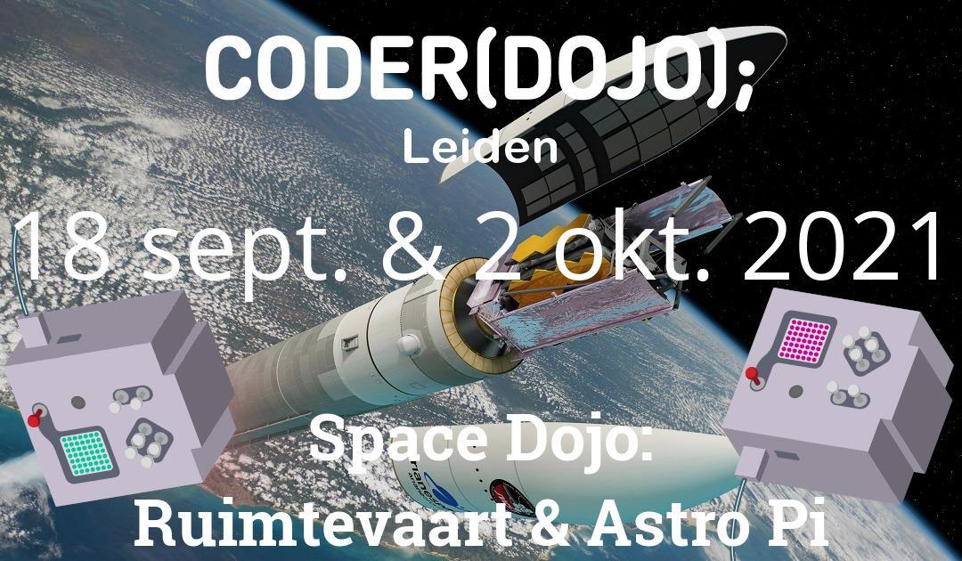 CoderDojo Leiden #79 | Space Dojo