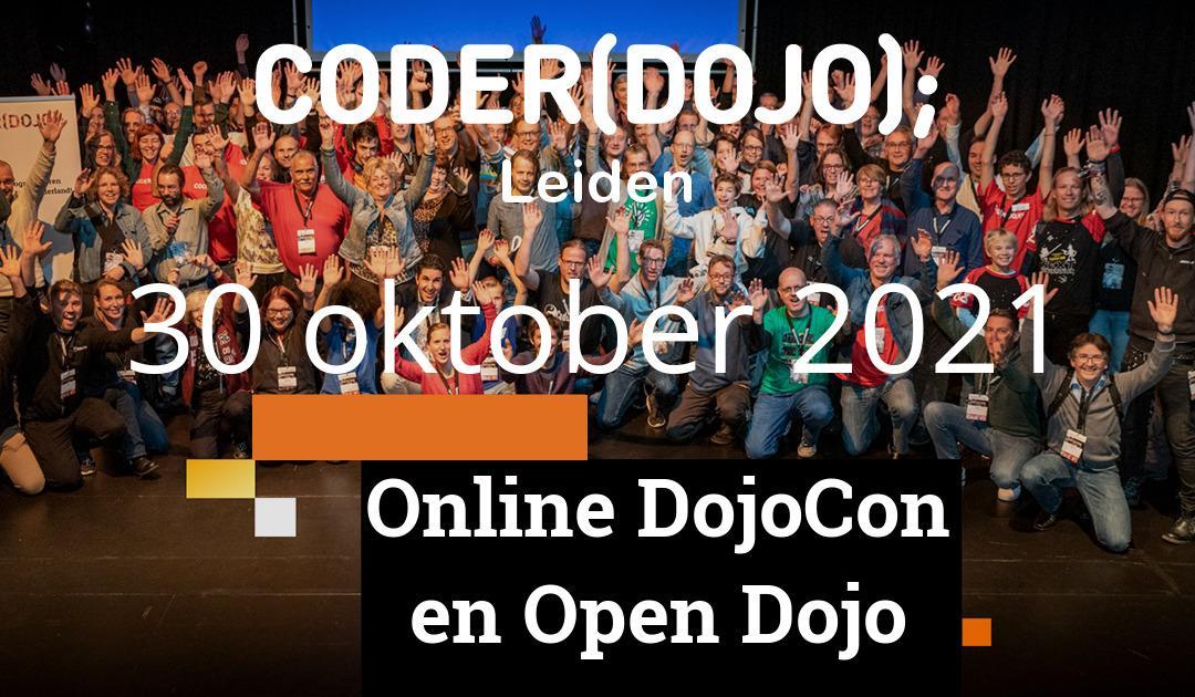 CoderDojo Leiden #81 | DojoCon & Open Dojo
